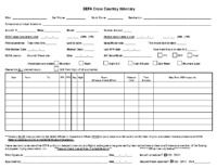 BEFA_Cross-Country_Itinerary_Request_Form
