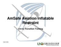 Aircraft Systems (SRX) – AmSafe Aviation Inflatable Restraint
